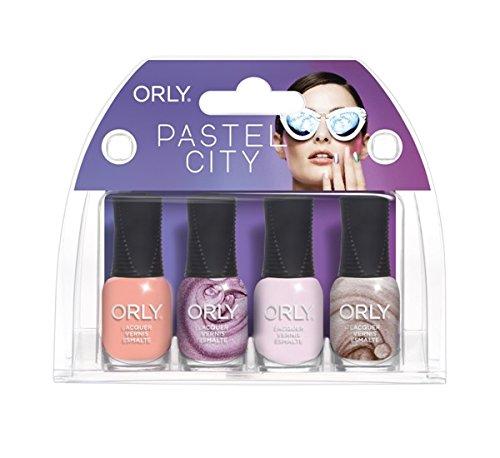 Orly Mani Mini Kit - Pastel City - 4 colors x 0.18oz/5.3ml
