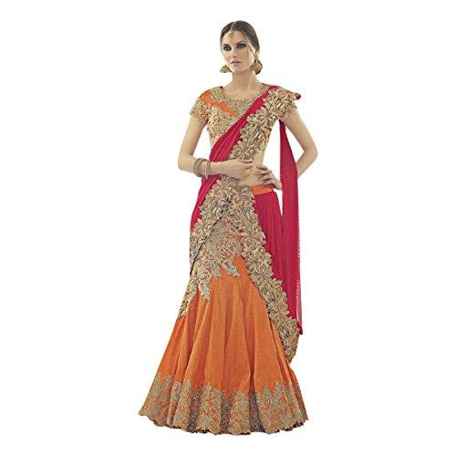 Bollywood Women Lehenga Choli Dupatta Ceremony Bridal Wedding Women Blouse Collection 617 13 by SHRI BALAJI SILK & COTTON SAREE EMPORIUM