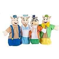 Set Marionetas de los 3 cerditos