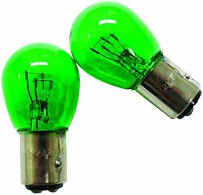 IPCW CWB-1157G Green Twist Mount 1157 Bulb Pair
