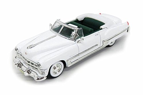 1949 Cadillac Coupe De Ville Convertible, White - Lucky Road Signature 94223W - 1/43 Scale Diecast Model Toy Car