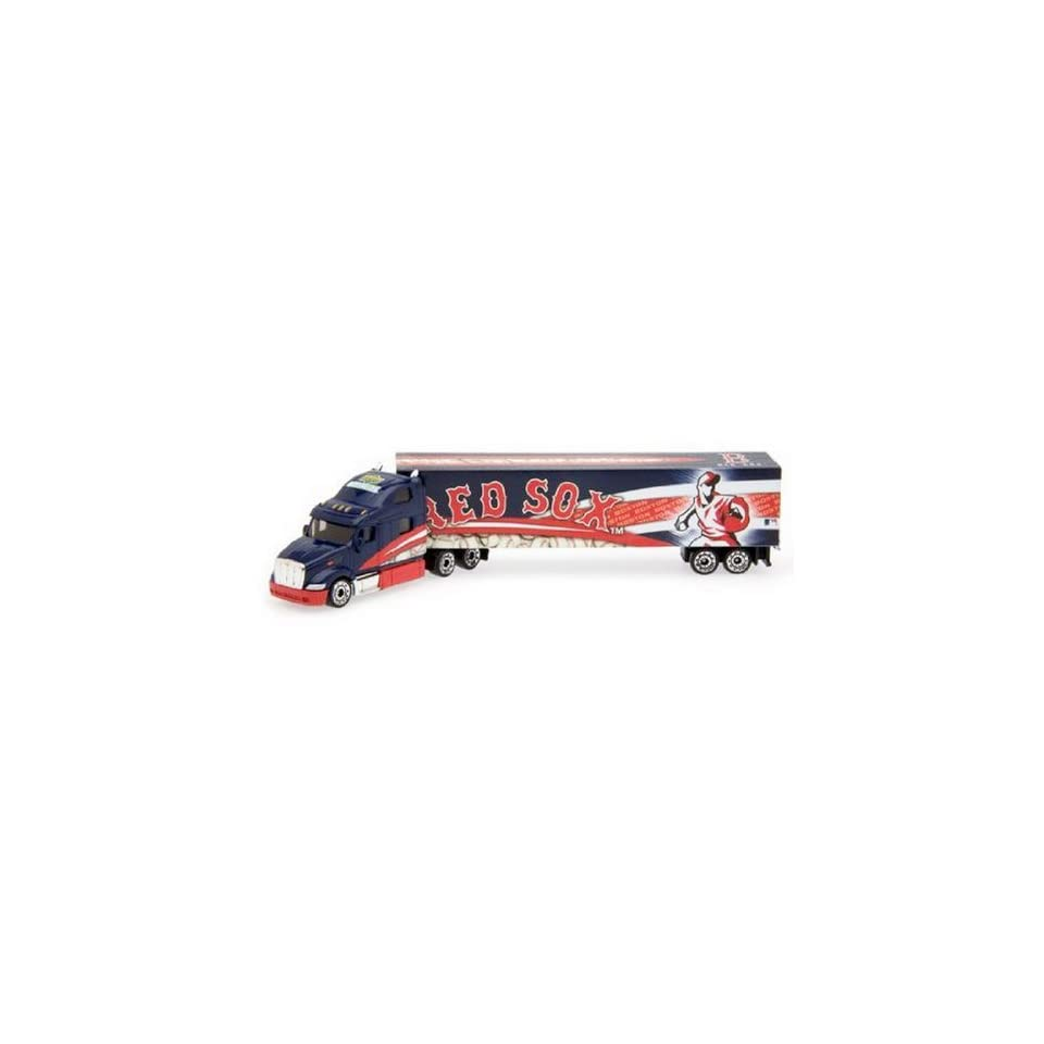 BOSTON RED SOX MLB 2008 Semi Diecast Tractor Trailer Truck 1/80 Scale   By Upperdeck