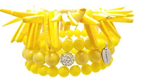 Yellow Prosperity/ Set Gemstone Mala Bracelet, bracelet,buddha bracelet,reiki Money Bracelet mala gemstone bracelet,yoga bracelet. Handmade Gemstones Stretch Bracelet Blue Agate bead with Swarovski
