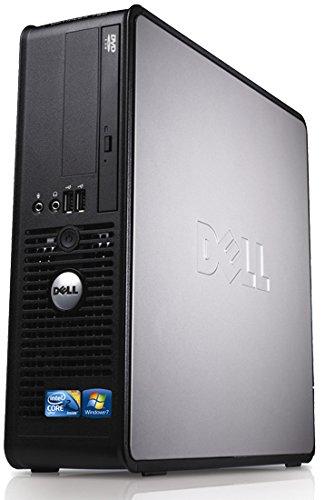 Windows 10, Dell Optiplex Desktop PC, Dual Core, 4GB Ram, 160GB Hard Drive, DVD (Renewed)