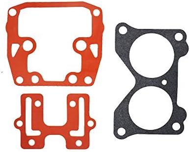 2 PCs For Johnson Evinrude Carb Carburetor Repair Kit 439076 Crossflow V4 V6 US