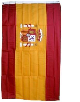 New 3x5 National Spanish Flag of Spain Country Flags Garden, Lawn, Supply, Maintenance (Flag National Spain)