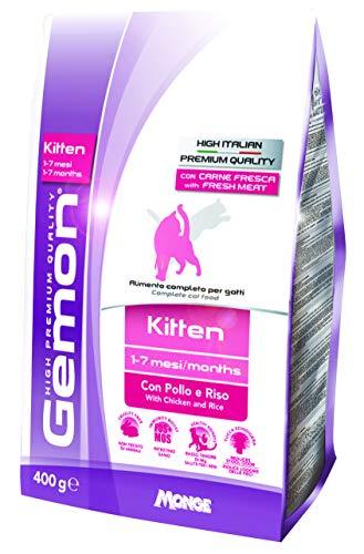 Ração Gemon Kitten Frango e Arroz para Gatos Filhotes 400g