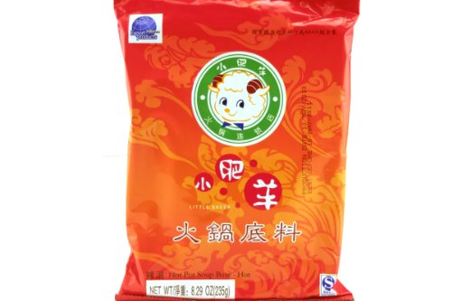 Mongolian Hot Pot Soup Base (Spicy) - 8.29oz [Pack of 6]