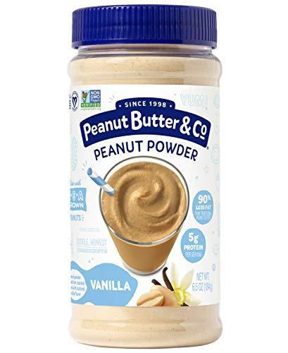 (Peanut Butter & Co. Vanilla Peanut Powder, Non-GMO Project Verified, Gluten Free, Vegan, 6.5 oz Jar)