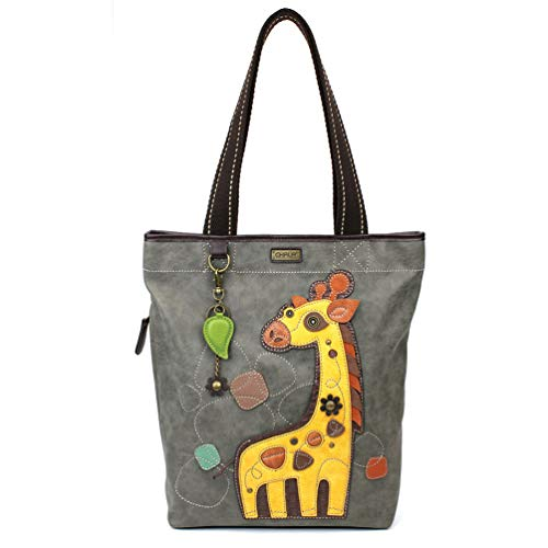 Chala Handbag Everyday Tote (Giraffe Gray)