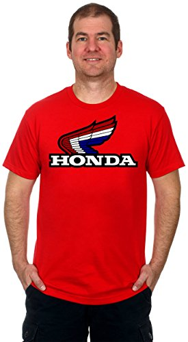 Honda Classic Red White & Blue Wing Logo Men's Short Sleeve T-Shirt