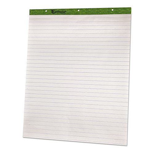 - Ampad 24034 Flip Charts, 1 Ruled, 27 x 34, White, 50 Sheets (Pack of 2)
