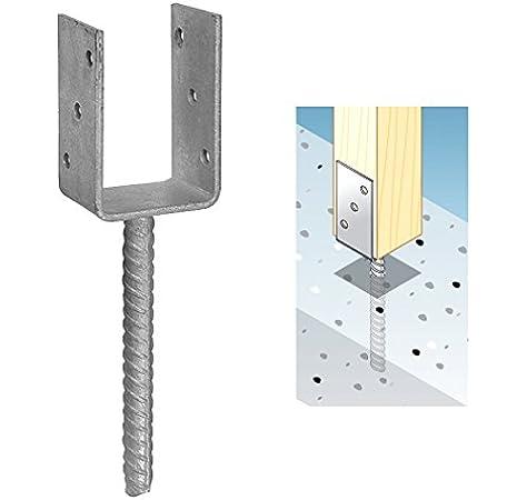 Postes 101 mm postes ancla postes Soporte postes Botas sujetalibros Soporte con piedra Dolle: Amazon.es: Bricolaje y herramientas