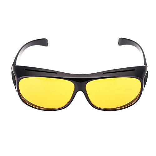 Sedeta 1Pcs Anti-glare UV400 Protected Polarized HD Night Vision GlassesAnti-glare Sunglasses Sport Bike Riders - Polarized Ratings Sunglasses