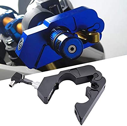 Reuvv Motorcycle Handlebar Lock Brake Lever Grip Security Safety Anit-Theft Protection