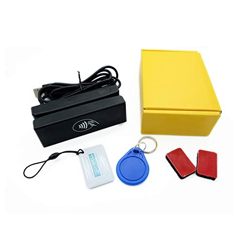 ZCS100-RF 2-in-1 Magstripe reader + RFID NFC contactless card reader writer (Reader Card Smart Pcsc)