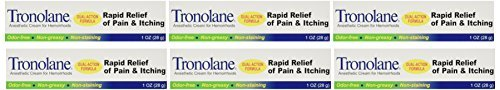 Special pack of 6 TRONOLANE HEM CREAM 1 oz by TRONOLANE