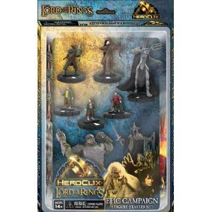 Miniature Heroclix (Lord of the Rings Heroclix Starter Set 8 Figures)