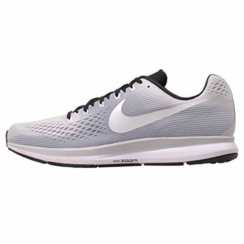 Nike Air Zoom Pegasus 34 TB 887009 002 Pure Platinum/White/Black Men's Running Shoes -