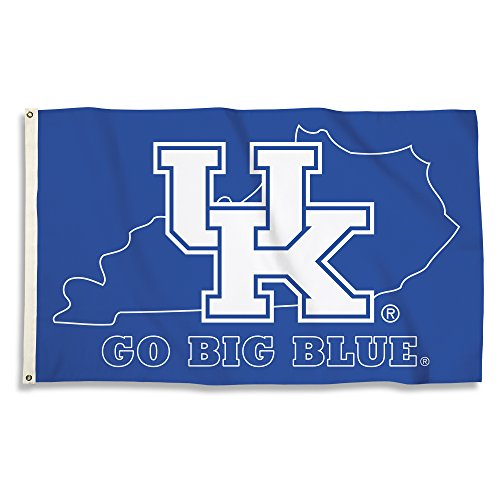 ncaa kentucky wildcats flag