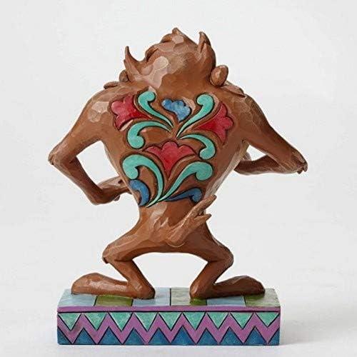 Looney Tunes by Jim Shore Taz Stone Resin Figurine, 5