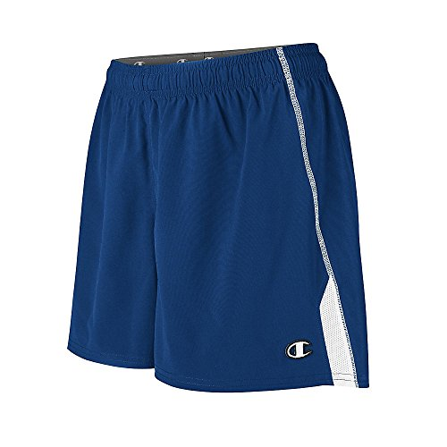 Champion Womens and Girls Advantage Woven Soccer Short Black/White
