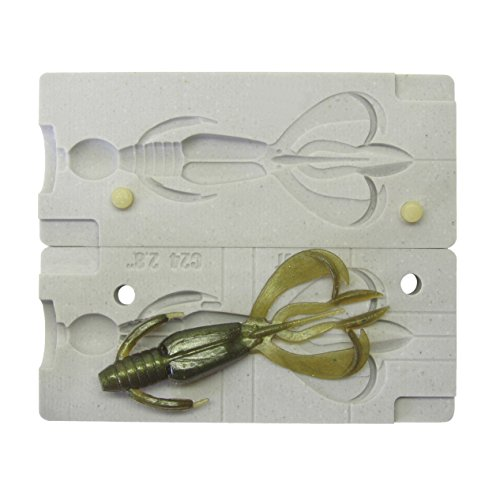 FatFish Bait Mold Model C24 Soft Plastiс Lure Making Injection Mold Do-It Fishing Lures 2.8""