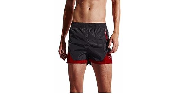 BBestseller Pantalones Corto de Playa de Secado Rápido, Bañadores de Natación Hombre Pantalones Cortos Boxers Deportivos de Natación Running Surf, Ropa ...