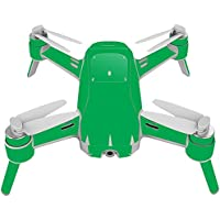 Skin For Yuneec Breeze 4K Drone – Solid Green | MightySkins Protective, Durable, and Unique Vinyl Decal wrap cover | Easy To Apply, Remove, and Change Styles | Made in the USA