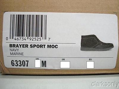 Clarks Brayer Sport Moc - Menns, Blå