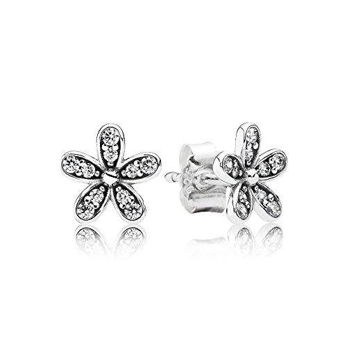 Pandora Earring Studs Dazzling Daisy Clear Cubic Zirconia 290570cz