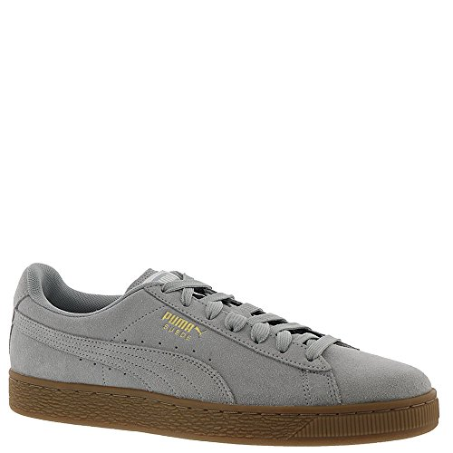 Lace Gum PUMA Sneakers Classic Mens Up Shoes Gray Suede 5SqxXqrOw