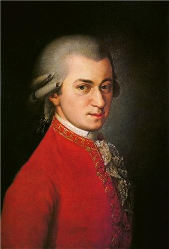 - WOLFGANG AMADEUS MOZART GLOSSY POSTER PICTURE PHOTO piano keyboard composer