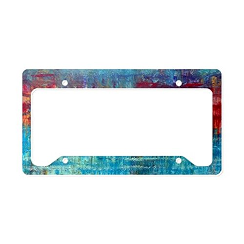 Cirrus Plate - CafePress - Cirrus Fire West License Plate Holder - Aluminum License Plate Frame, License Tag Holder