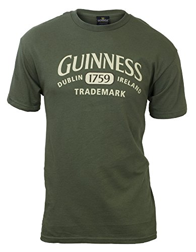Guinness Vintage Crest T-Shirt (Medium) - Guinness Green