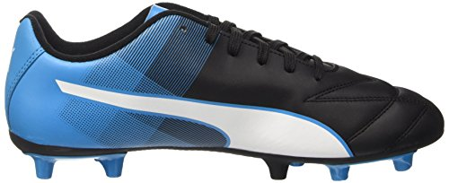 Puma Adreno Ii Fg - Botas de fútbol Hombre Negro - Schwarz (black-white-atomic blue 03)
