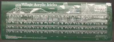 Icicle Village (Dept 56 Village Acrylic Icicles (4 Pieces))