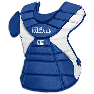 Wilson Pro Stock Hinge FX 2.0 Baseball Catcher's Chest Protector (Royal, 18-Inch) -