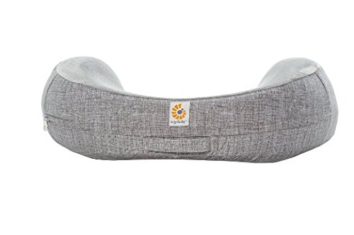 ergobaby-natural-curve-nursing-pillow-plus-cover-heathered-grey