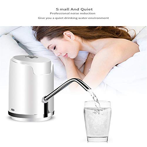 Kbxstart Electric Bottled Water Dispenser Pump Wireless USB Drinking Water Bottle Suction Mini Dispensador De Agua Fria Electric (A, Gold) - - Amazon.com