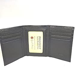 Osgoode Marley RFID Double ID Trifold-Black