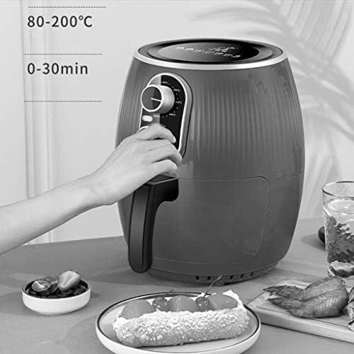 Friteuse multifonctionnelle Fryer Air Home Multifonctions 4.5L de Grande capacité sans Huile Fries Faible teneur en Gras Machine Air Fryer santé
