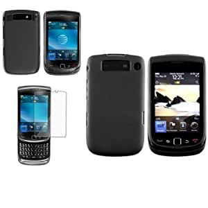 Cerhinu CommonByte For Blackberry Torch 9810 Screen Film+2 Hard Case Cover