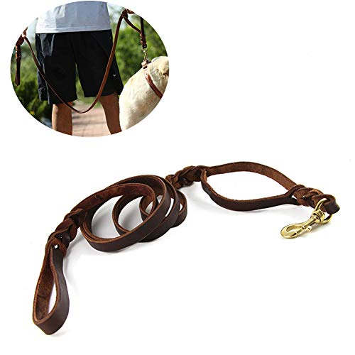 Genuine Leather Durable Braided Training