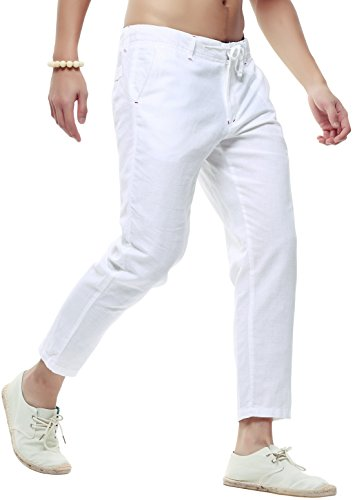 Drawstring Beach Pants - 9