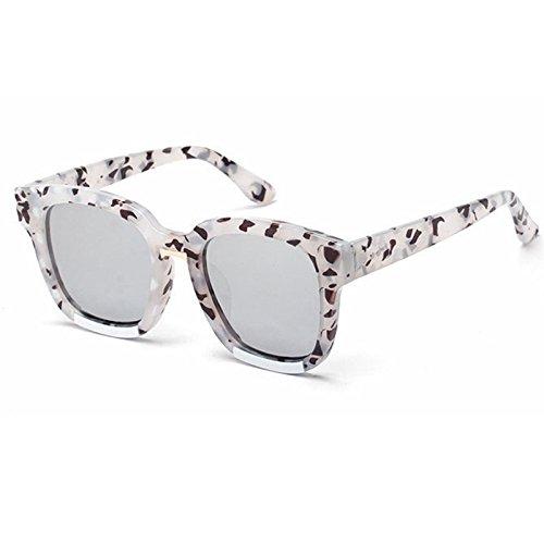 de Retro sol Gafas gafas sol gafas Sunglasses rojo de sobredimensionado UV400 negro de la Mujer TL de para sol Verde hembra 40YxEw4n