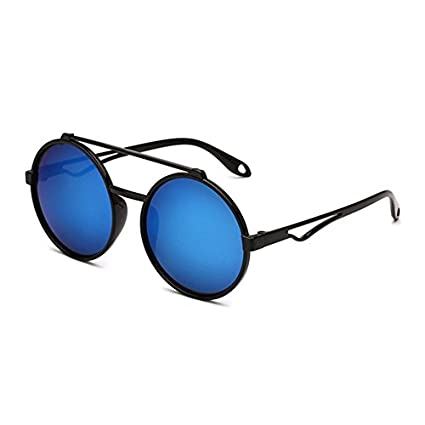 1e461a3e8b Amazon.com  Baynne Aviator Flat Mirror Lenses Sunglasses