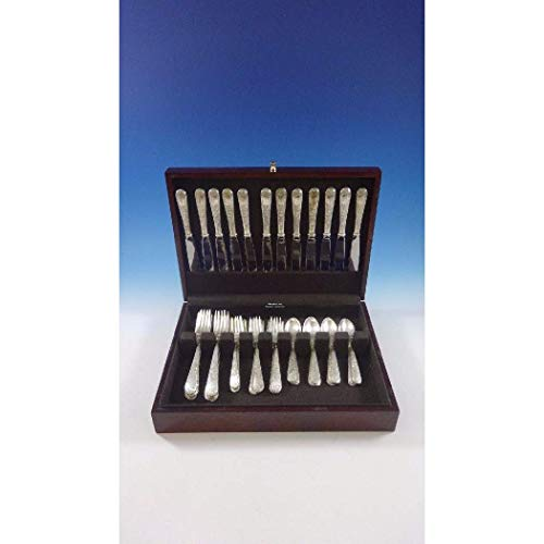 Old Maryland Engraved by Kirk Sterling Silver Flatware Set 12 Service 48 Pieces