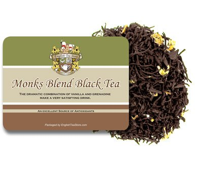 Naturally Flavored Black Tea - Monks Blend Naturally Flavored Black Tea Loose Leaf - 4oz