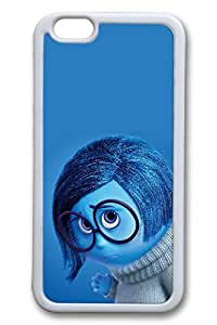 iPhone 6 Case - New Release Protective Rubber Back Case for iPhone 6 Inside Out Sadness Disney Pixar Perfect Fit White Soft Case Bumper for iPhone 6 4.7 Inches by runtopwellby Maris's Diary